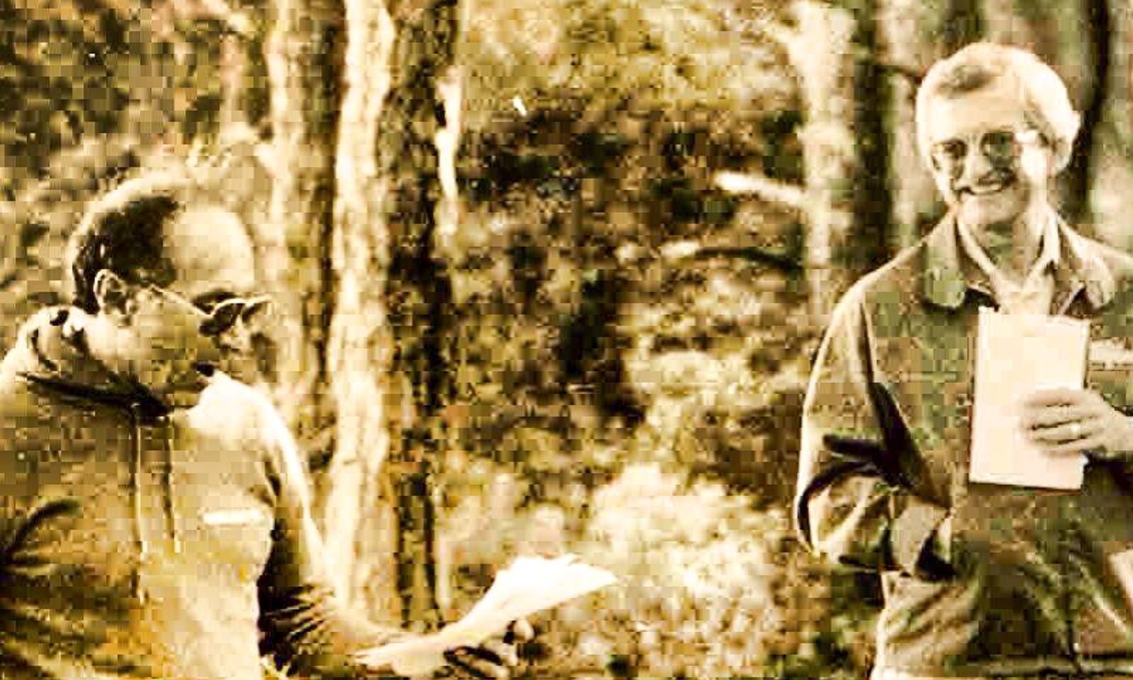 Joel Wolfson and David Silverman, founders of Camp Wingate Kirkland